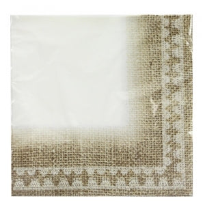 Burlap - Luncheon Napkin (Case Qty: 1440)