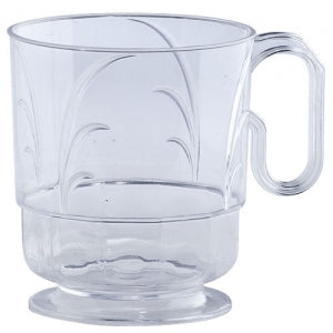 8 oz Elegance Clear Coffee Mug (Case Qty: 320)