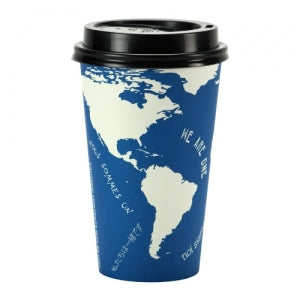 World - 16 oz. Hot Cup with Lid (Case Qty: 384)