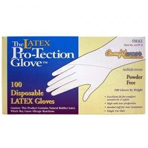 Small Latex Powder Free Gloves (Case Qty: 1000)