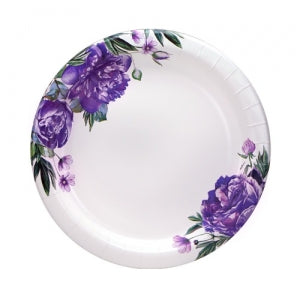 "Peony - 8.6"" Plates - 48 Count (Case Qty: 576)"