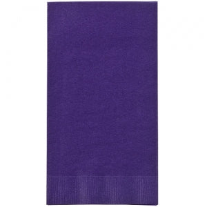 Purple Guest Towels 16 Count (Case Qty: 576)