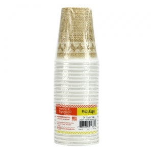 Burlap - 9 oz. Cup (Case Qty: 864)