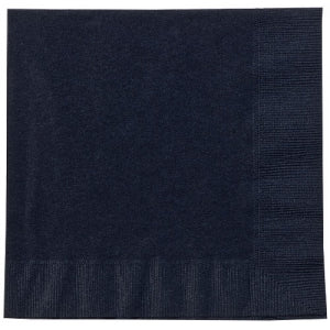 Black Lunch Napkins 20 Count Case Qty: 720()