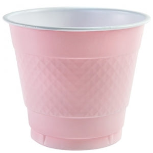 9 oz. Plastic Co-Ex Cup - Pink - 18 Count (Case Qty: 648)