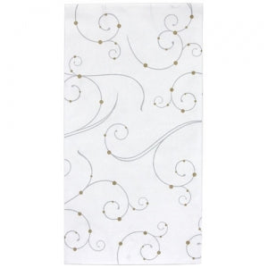 Swirls & Pearls Bistro Napkin 14 Count (Case Qty: 504)