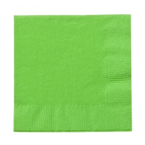 Lime Green Beverage Napkins 24 Count (Qty: 864)