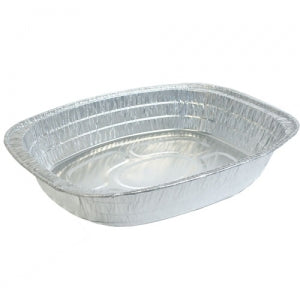 Aluminum Large Oval Roaster (Case Qty: 100)