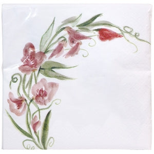 Pink Everyday Floral Luncheon Napkin (Case Qty: 1440)
