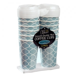 Lattice - 16 oz. Hot Cup with Lid (Case Qty: 288)