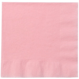 Light Pink Lunch Napkins 20 Count (Case Qty: 720)