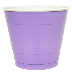9 oz. Plastic Co-Ex Cup - Hydrangea - 50 Count (Case Qty: 600)