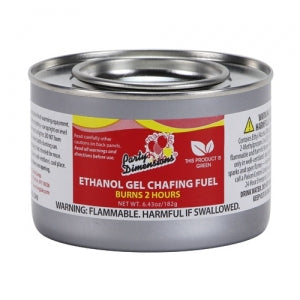 Ethanol Gel Chafing Fuel - 2 Hour (Case Qty: 72)