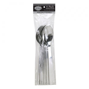 Serving Spoon - Polished Silver (Case Qty: 72)