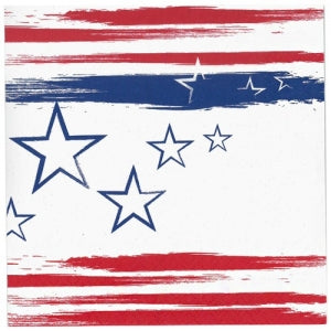 Stars N Stripes Luncheon Napkin 40 Count (Case Qty: 1440)