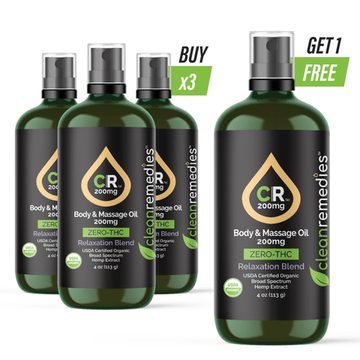 CBD MASSAGE OIL - BUNDLE