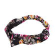1 Piece Fashion Women Flower Hair Band Turban Head Wrap Headband Twisted Knotted Head Wrap