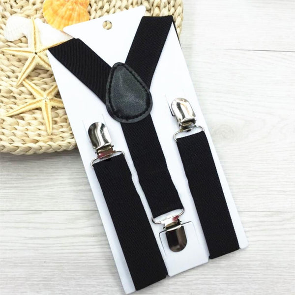 1 Piece Hot High Elastic Solid Color Kid Suspenders Baby Boy Girl Children Clothing Accessories