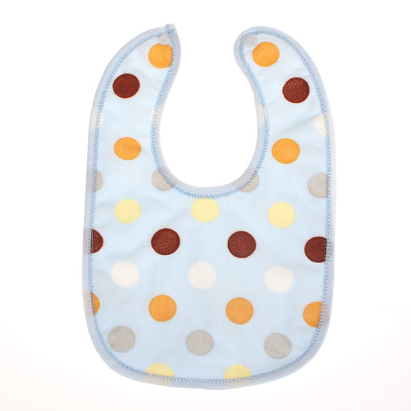 1 piece Baby Dot Kids Bibs Saliva Burp Boy Girls Newborn Feeding Bandana Babador Baberos Waterproof Toddlers soft burp