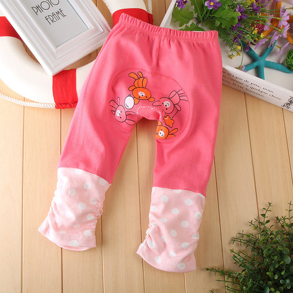1 piece Kids Toddler Boy Girl Baby Leggings PP harem Pants busha Cotton Trousers animal bear