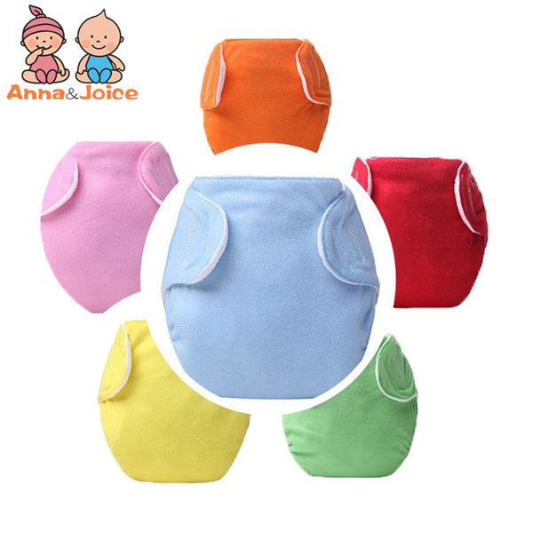 10pcs Baby Diapers/Children Cloth Diaper/Reusable Nappies/Adjustable Diaper Cover/Washable  Trx0017