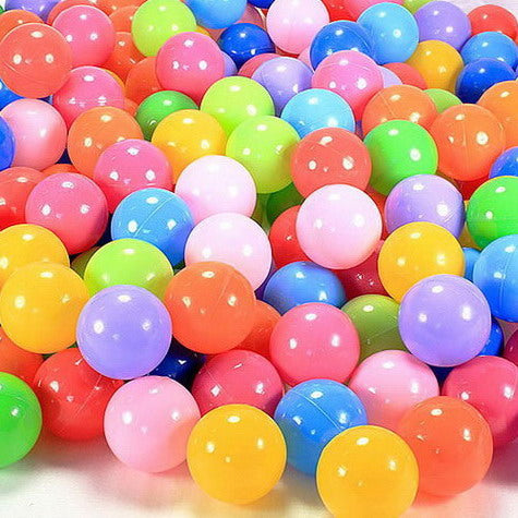 10pcs Soft Plastic Swim Pool Balls Pit Balls Water Pool Ocean Wave Ball Baby Bath Toys Baby Funny Toys Stress Air Ball PX40