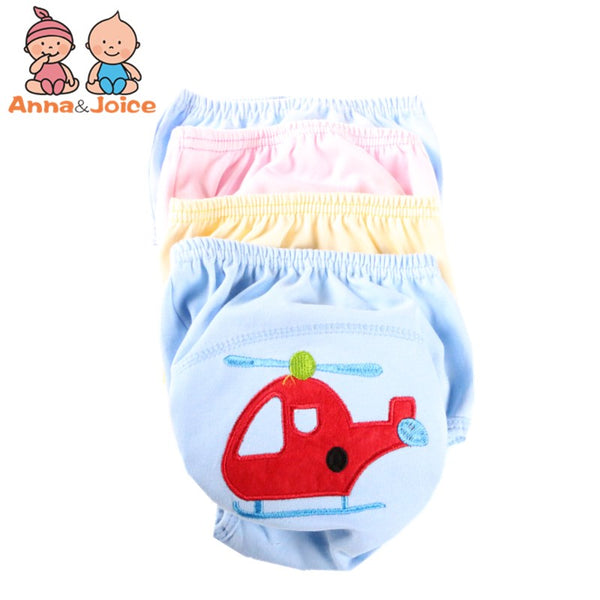 10pcs/lot  Baby Training Pants/Child Cloth Study Pants/Reusable Diapers Nappy Cover/Washable