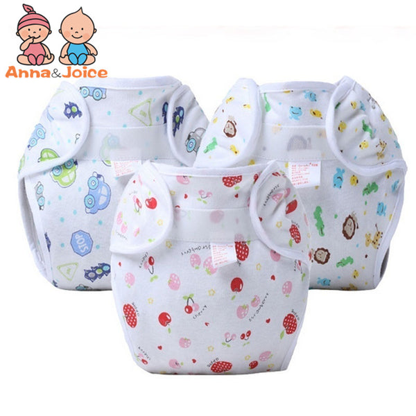 10pcs/lot Reusable Baby Nappy Cloth Diapers Soft Covers Washable Free Size Summer Version TRX0029