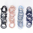 12pcs/16pcs Girls Hair Band Colorful Cute Pearl Bow Elastic Rubber Bands Hair Ropes Ponytail Tie Gum Hair Accessories