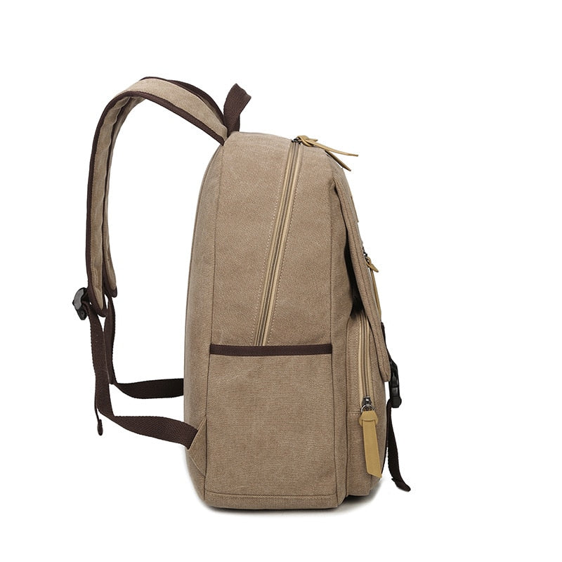 ee649ccd8a4 15.6 Inch Laptop Backpack Men Vintage Bookbags College Student Bookbag –  Beal | Daily Deals For Moms