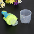 1Pcs Baby Pacifier Fresh Food Milk Nipple Nibbler Pacifier Feeder Feeding Bottles Tool Safely Baby Supplies Blue/Orange
