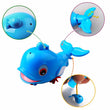 1Pcs New Cute Animal Turtle Dolphin Baby Shower Toy Swimming Pool Accessories Toys for Kids Children Bath Classic Clockwork Toy