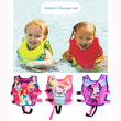2-10Y Baby Float Vest Swim Trainer Kids Swim Vest Girls Life Jacket Swimsuit Swimwear Inflatable Swan Pool Piscine Accessories