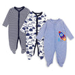 2/3Pcs/Lot100%Cotton baby rompers suit newborn baby girls boys clothes Long Sleeve Jumpsuit
