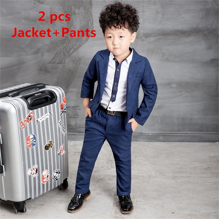 346c4c3e4e3b7 2016 New Children Suit Baby Boys Suits Kids Blazer Boys Formal Suit ...