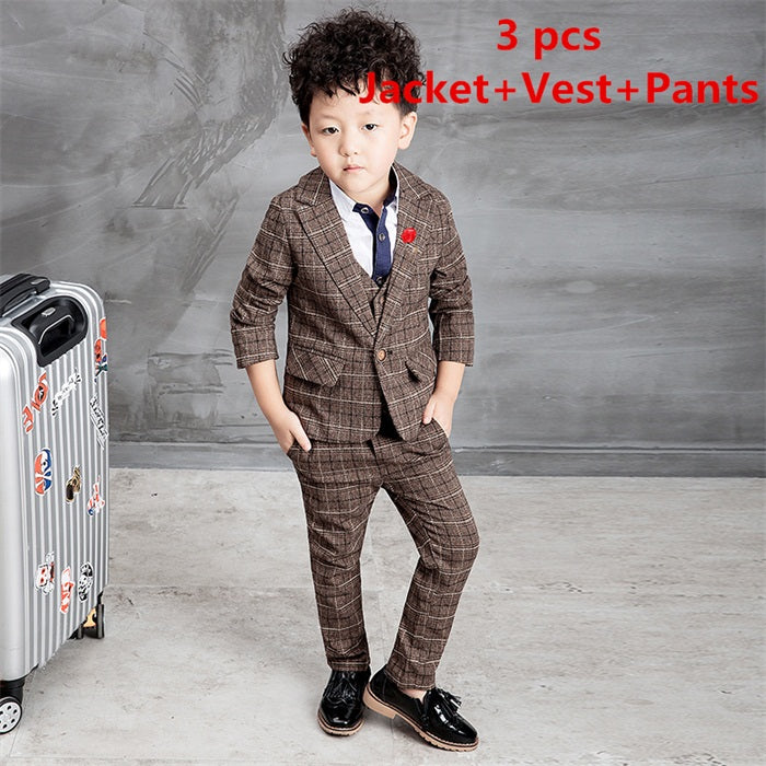 3807bb8782765 2016 New Children Suit Baby Boys Suits Kids Blazer Boys Formal Suit ...