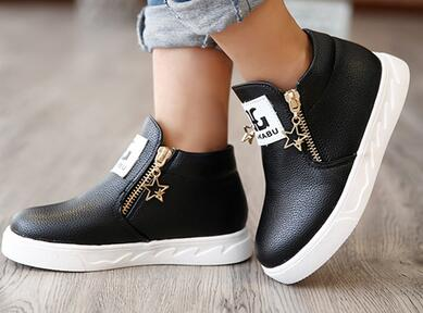 2016 spring and autumn children's single shoes Korean boys/girls sneakers students sports