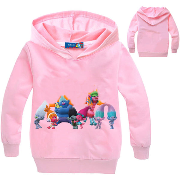 2017 Autumn Clothes For Girls T-shirt Long Sleeve T Shirt Printing Hoodies Kids Sweatshirt For Baby Clothing Bobby Tops