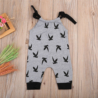 2017 Baby Boys Girls Clothes Infant Sleeveless Clothes 100% Cotton Newborn Baby Rompers Baby Clothing Set High Quality