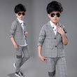 2017 Boys Blazer Suits for Weddings Party Kids Marriage Blazers Jacket+Pants 2 pieces/set