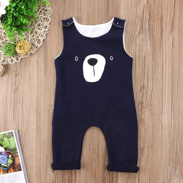 2017 Brand New Newborn Toddler Infant Baby Boy Girls Clothes Bear Romper Playsuit Jumpsuit