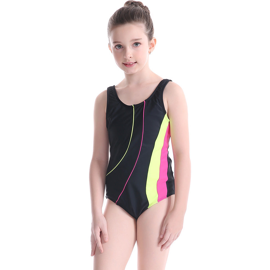 042d80ee7cc1d 2017 Children Swimwear Girl One Piece Swimsuit Sport Racing Swim Suit Kids  Child Professional Competition Surfing Bathing Suits – Beal | Daily Deals  For ...