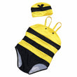 2017 Cute Kawaii Summer Baby Swimwear Bee Cartoon Piece Swimsuit Bathing Swimming Suits for Girls