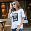 2017 Fashion Vintage T Shirt Women Letter Print Casual Tops Diamonds XXL Women T Shirt Loose Solid Casual Poleras De Mujer CS129
