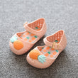 2017 Mini Pineapple Fruit Hole Summer Jelly Children's Shoes Hot Sale Plain Rain Boot Baby