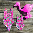 2017 Mother Daughter Clothes Family Matching Swimsuit Swimwear bikini Family Look Matching Clothing Summer Beach Bathing Suit