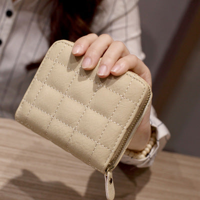 2017 New Arrival Fashion Women Wallet Retro Female Purse PU Zipper Wallets Short Design Clutch
