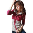 2017 Spring Autumn Polo Women Long Sleeve Faux Twinset Tops Slim Polo Mujer Fashion Ladies Polo Shirt Femme Plus Size 4XL A526