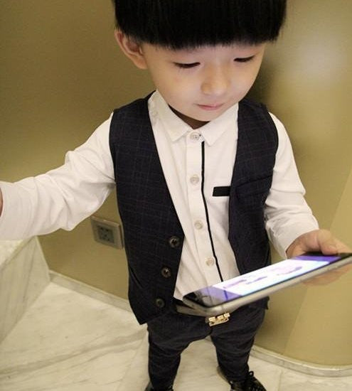 2017 fahion Vest Suits Children Suit Baby Boys Suits Blaze Formal Suit For Wedding Boys Clothes