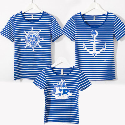 2017 summer family matching outfits mother son outfits family look girl and mother t-shirts mother and daughter clothes